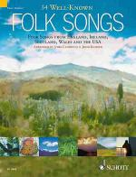 34 Well-Known Folk Songs Sheet Music