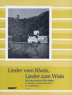 Lieder vom Rhein, Lieder zum Wein Sheet Music