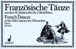 Franzosische Tanze Sheet Music