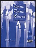 Partita on Rejoice, Rejoice Believers/ HAF TRONES LAMPA FaRDIG Sheet Music