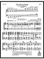 Thy Strong Word Sheet Music
