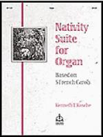Nativity Suite (Based on 5 French Carols) Sheet Music