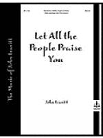 Let All the People Praise You Sheet Music
