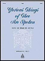 Glorious Things of Thee are Spoken Sheet Music