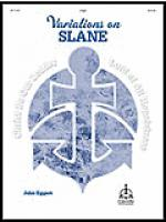 Variations on SLANE for Organ Sheet Music