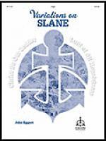 Variations on SLANE for Organ Sheet Music