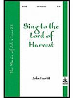 Sing To The Lord Of Harvest Sheet Music