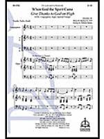 Give Thanks to God on High Sheet Music