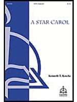 A Star Carol Sheet Music