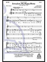 Jerusalem, My Happy Home Sheet Music