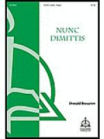 Nunc Dimittis Sheet Music