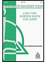 Cast Thy Burden Upon the Lord Sheet Music