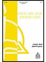 Open Are Our Savior's Lips Sheet Music