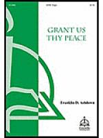 Grant Us Peace Sheet Music