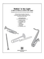 Walkin' in the Light (I Want to Walk As a Child of the Light) Sheet Music
