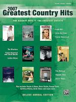 2007 Greatest Country Hits Sheet Music