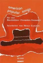 American Popular Songs Sheet Music