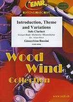 Introduction, Theme and Variations Sheet Music