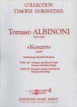 Konzert g-moll fur Trompete Sheet Music