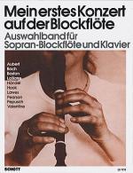 Mein erstes Konzert auf der Blockflote Sheet Music