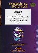 Amen From The Messiah (Chorus SATB) Sheet Music