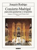Concierto Madrigal Sheet Music