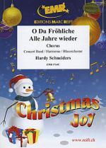 O Du Frohliche / Alle Jahre wieder (Chorus SATB) Sheet Music