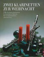 Zwei Klarinetten zur Weihnacht Sheet Music