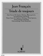 Triade de toujours Sheet Music