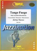 Tango Fuego (Accordion Solo) Sheet Music