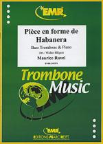 Piece en forme de Habanera Sheet Music