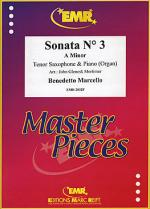 Sonata No. 3 in A minor Sheet Music