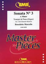 Sonata No. 3 in A minor Sheet Music