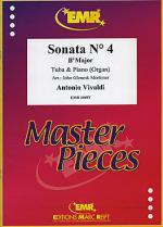 Sonata No. 4 in Bb major Sheet Music