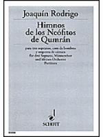Himnos de los Neofitos de Qumran Sheet Music