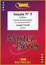 Sonata No. 5 in E minor Sheet Music