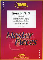 Sonata No. 5 in E minor Sheet Music