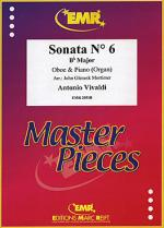 Sonata No. 6 in Bb major Sheet Music