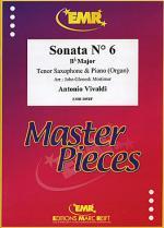 Sonata No. 6 in Bb major Sheet Music