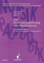 Zur Professionalisierung von Musiklehrern Sheet Music