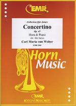 Concertino Op. 45 Sheet Music