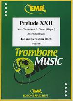 Prelude XXII BWV 867 Sheet Music