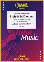Prelude D minor BWV 539 Sheet Music