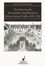 Die Sinfonien des Darmstadter Kapellmeisters Johann Samuel Endler 1694-1762 Sheet Music