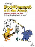 Blockflotenspass mit der Maus Sheet Music