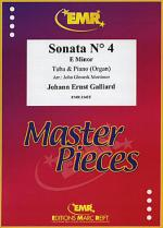 Sonata No. 4 in E minor Sheet Music