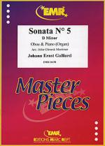 Sonata No. 5 in D minor Sheet Music
