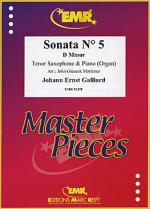 Sonata No. 5 in D minor Sheet Music