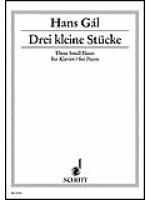 Drei kleine Stucke op. 64 Sheet Music