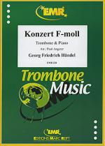 Konzert f-moll Sheet Music